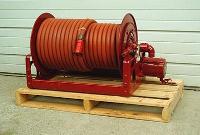 Stock 1037 hannay electric rewind hose reel specs for Hannay hose reel motor