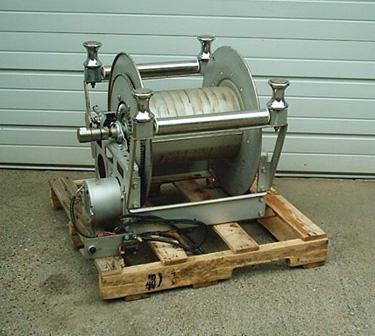 Hannay electric rewind hose reel stock 2037 for Hannay hose reel motor