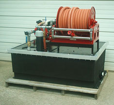 200 Gallon Slip On Fire Fighter Unit