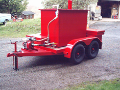 450 Gallon Fire Trailer