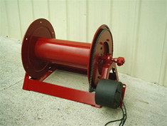 #2061 Imperial Electric Rewind Hose Reel