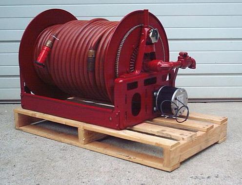 Stock 1029 hannay electric rewind hose reel specs for Hannay hose reel motor