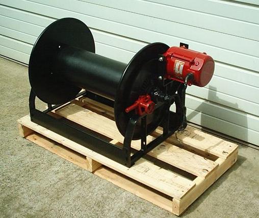 Tokheim rewind hose reel for 12 volt hose reel motor